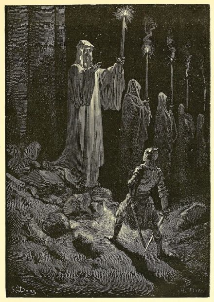 Dore, Gustave: The Corpse Candles. Fine Art Print/Poster. Sizes: A4/A3/A2/A1 (003968)